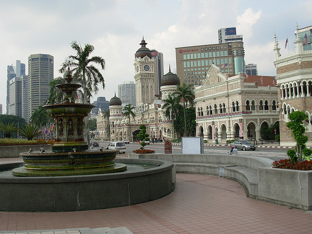 by sfbear4azn on Flickr.Sultan Abdul Samad Building in Merdeka Square - Kuala Lumpur, Malaysia.