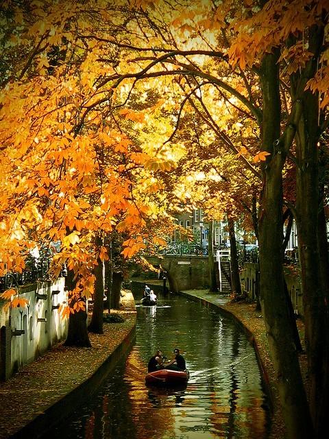 Canal Ride,  Utrecht, The Netherlands