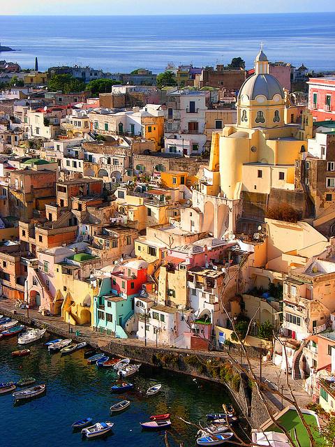Colours of Corricella, Procida Island, Italy