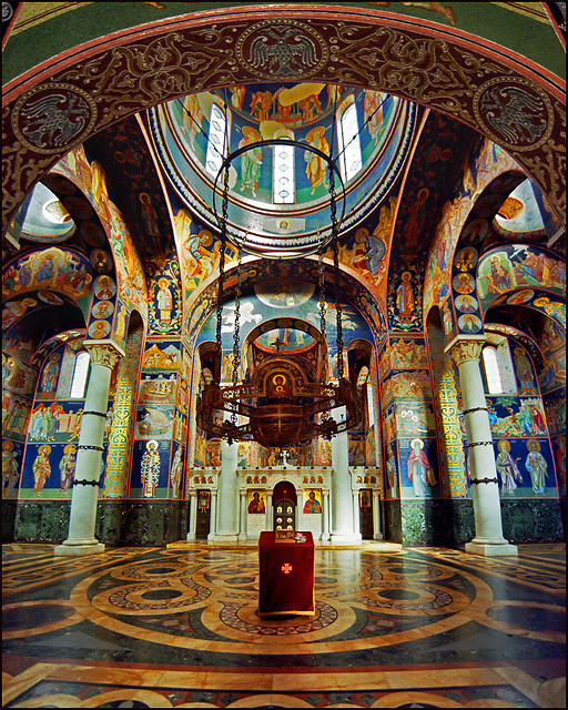 The church of St. George in Topola, Serbia