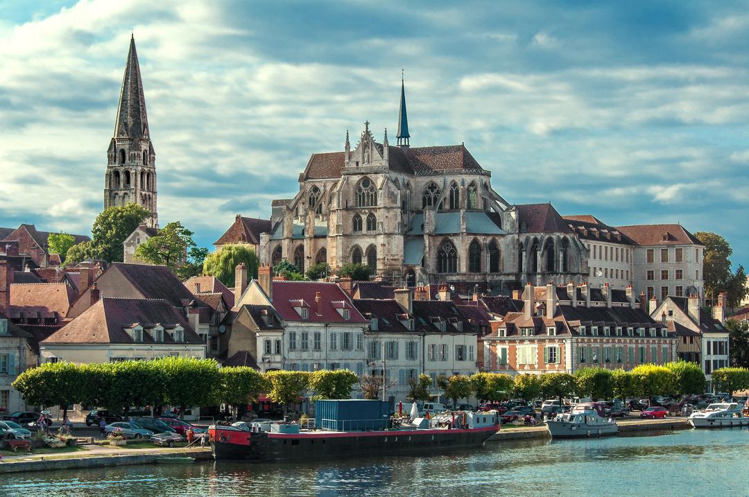 Yonne River, France