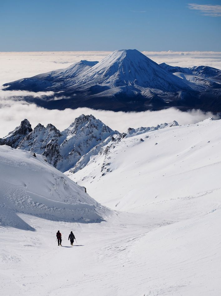 """""""The Mirage of Ngauruhoe / New Zealand . """""""
