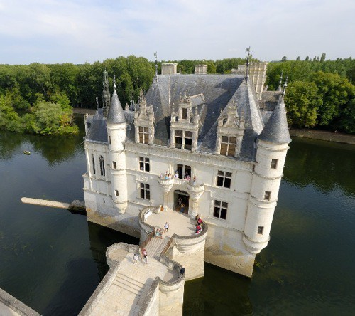 Island Castle, Chenonceau, France
