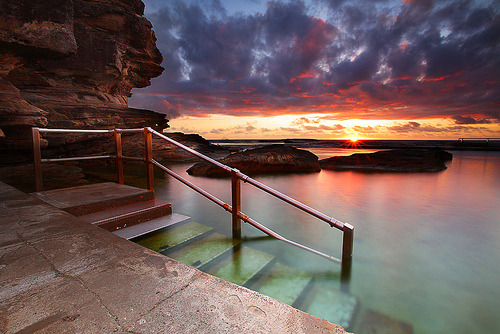 Sunset, North Curl Curl, Sydney, Australia