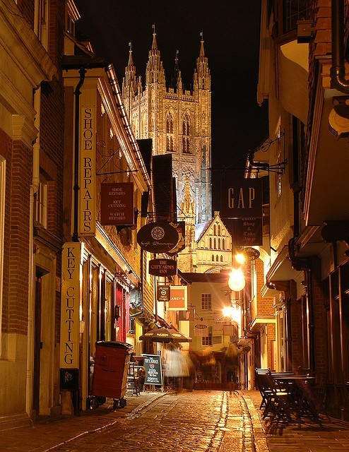 Late Night, Canterbury, England