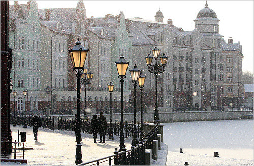 Snowy Morning, London