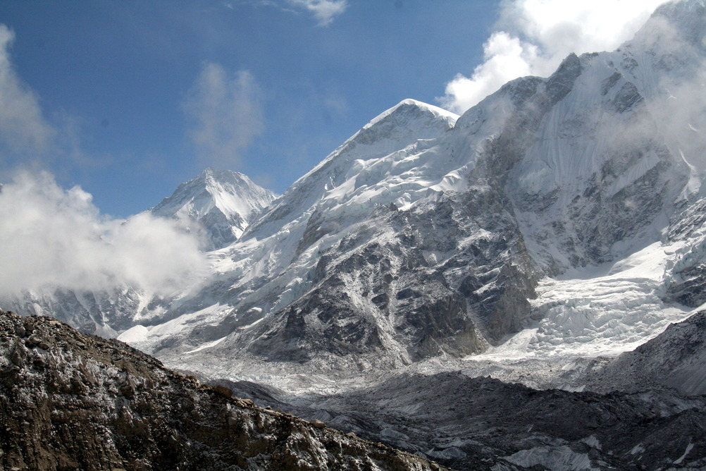 "trekearth:"" View from base camp, Everest"""