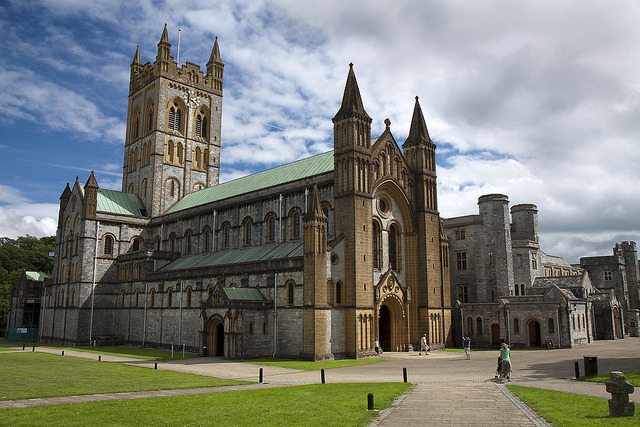 Buckfast Abbey forms part of an active Benedictine monastery in Devon, England. Dedicated to Saint Mary, it was founded in 1018 and run by the Cistercian order...