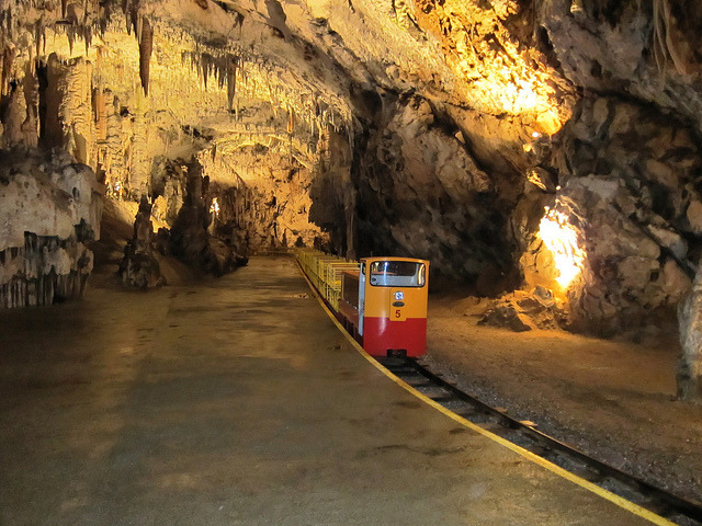 Postojna Cave is a 20,5 km long Karst cave system near Postojna, Slovenia. It is the longest cave system in the country as well as one of its top tourism sites. In 1872...