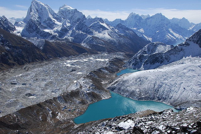 by peteris_e on Flickr.Gokyo Lakes, Himalayas - Khumbu Region, Nepal.