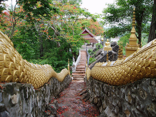 by kds1505 on Flickr.A beautiful temple in Luang Prabang, Laos.