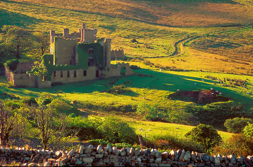 Medieval Beauty, Clifden Castle, Ireland