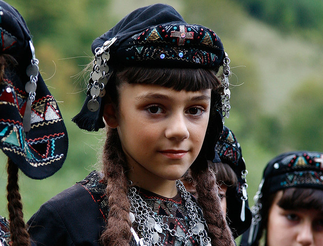 by grijsz on Flickr.Young faces of the world - girl from Caucasus, Georgia.