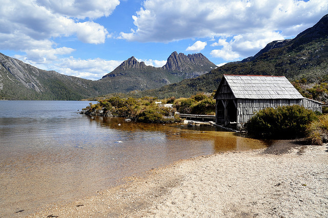 by _Zinni_ on Flickr.Cradle Mountain-Lake St Clair National Park, Tasmania, Australia.