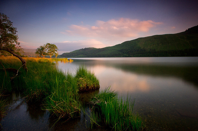 by Kristofer Williams on Flickr.Evening Reflections at Llyn Cwellyn, Snowdonia, Wales.