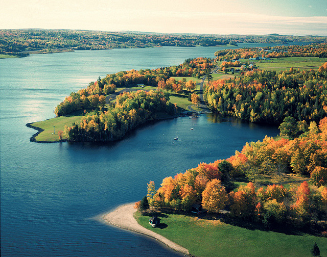 by New Brunswick Tourism on Flickr.Saint John River Valley in New Brunswick, Canada.