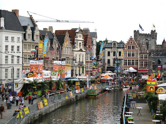 Another view from the beautiful city of Ghent, Belgium