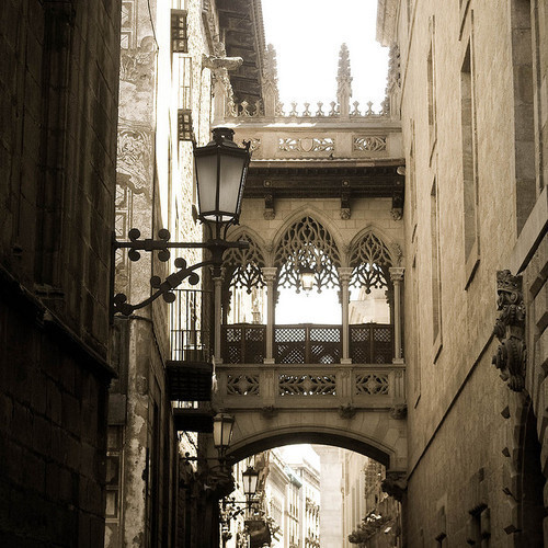 Arches, Barcelona, Spain