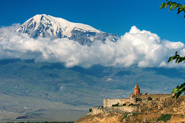 Khor Virap Monastery and Mount Ararat, Armenia