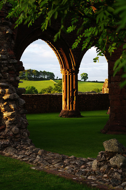 Arches, New Abbey, Scotland