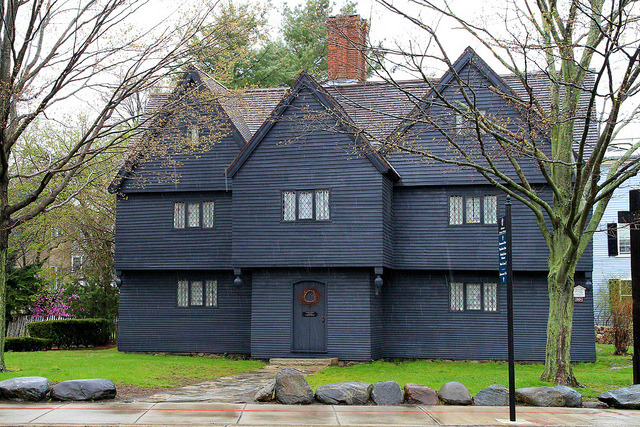 The Witch House in Salem, Massachusetts, USA