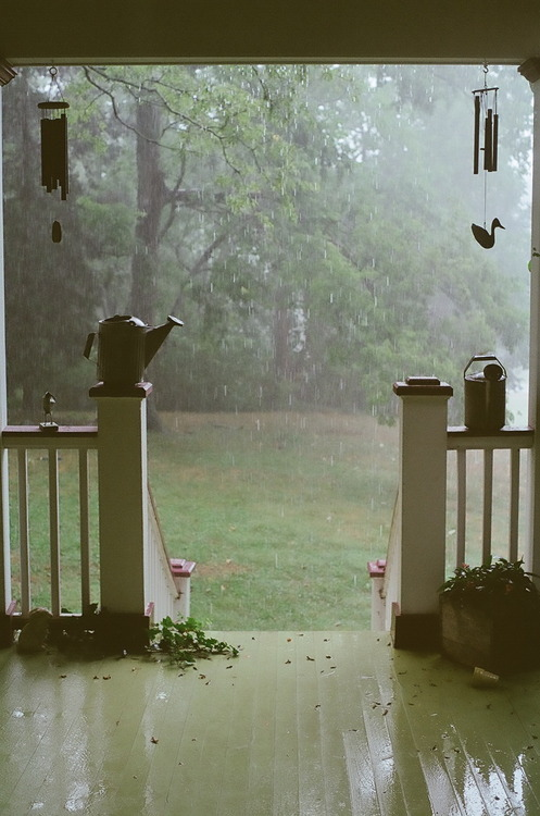 Summer Rain Porch, Brentwood, Tennessee