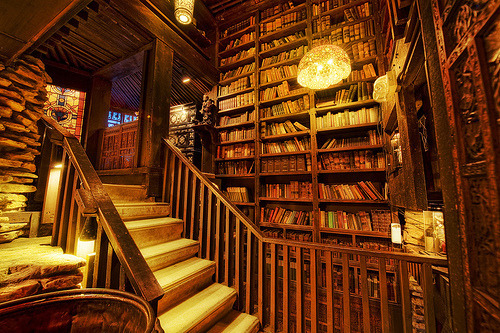 Library Staircase, House on the Rock, Wisconsin