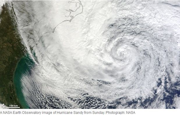 Hurricane Sandy will hit the eastern US Coast in few hours. They say it is one of the most powerful storm ever seen, they might be wrong though. My dear followers living in that area, please take...