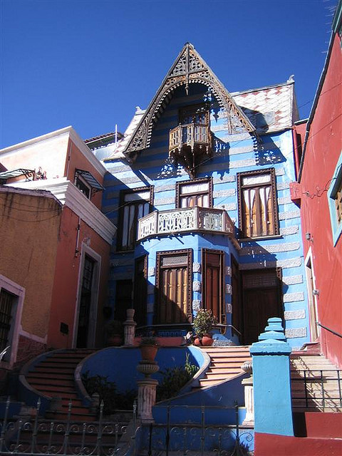 Casa de las Brujas  in Guanajuato, Mexico. It is said to be haunted by the ghost of a girl who was supposedly found beaten and starved to death in the cellar. Appearances,...