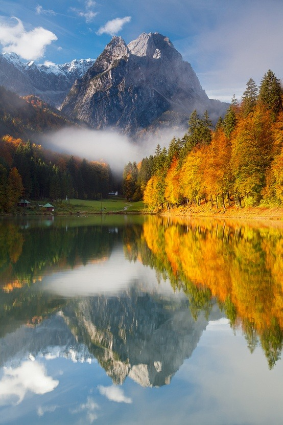 Reflections, Garmisch-Partenkirchen, Germany