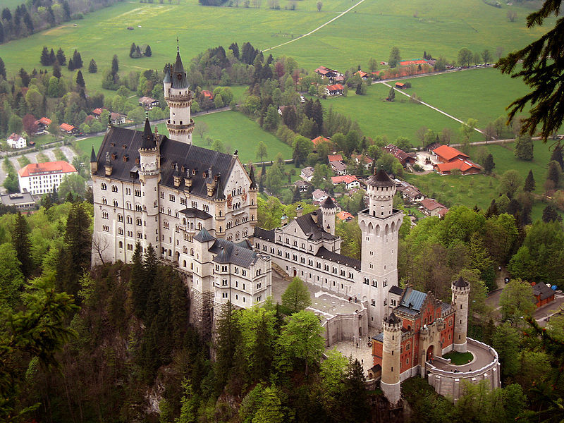 The jewel of Bavaria, Neuschwanstein Castle, Germany