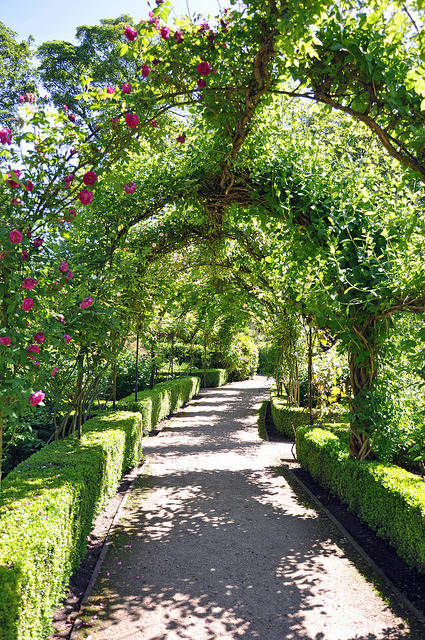 Brodsworth Hall and Gardens in South Yorkshire, England