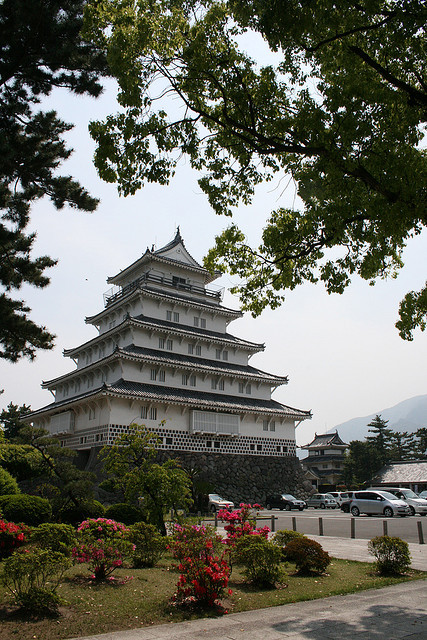 Shimabara Castle in Nagasaki Prefecture, Japan