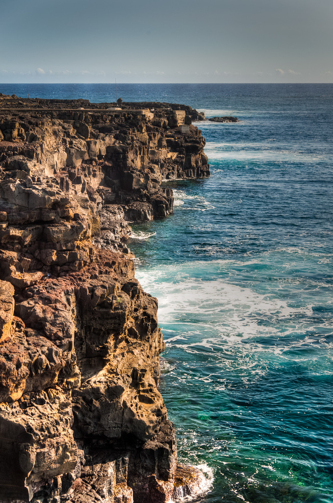 South Point Cliffs, Hawaii