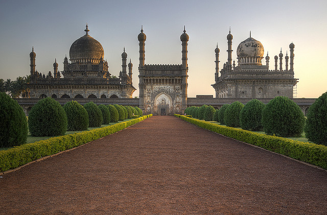 Ibrahim Rauza Mausoleum in Bijapur / India